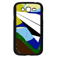 Paper airplane Samsung Galaxy Grand DUOS I9082 Case (Black)