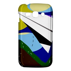 Paper airplane Samsung Galaxy Ace 3 S7272 Hardshell Case