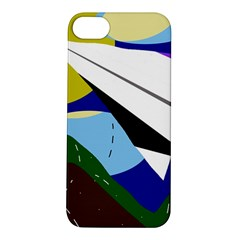 Paper airplane Apple iPhone 5S/ SE Hardshell Case
