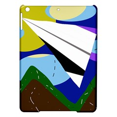 Paper airplane iPad Air Hardshell Cases