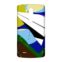 Paper airplane LG G3 Back Case