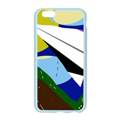 Paper airplane Apple Seamless iPhone 6/6S Case (Color)