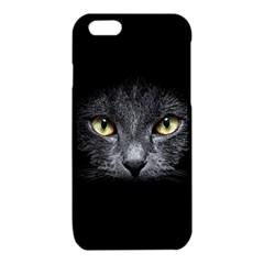 Black Cat Face In The Dark iPhone 6/6S TPU Case