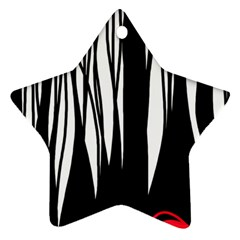 Black forest Ornament (Star)