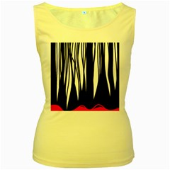 Black forest Women s Yellow Tank Top