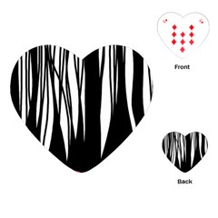 Black forest Playing Cards (Heart)