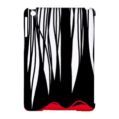Black forest Apple iPad Mini Hardshell Case (Compatible with Smart Cover)