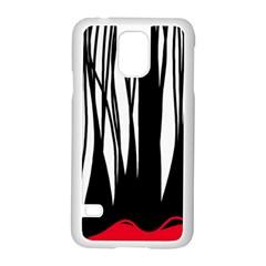 Black forest Samsung Galaxy S5 Case (White)