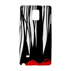 Black forest Samsung Galaxy Note 4 Hardshell Case