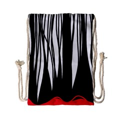 Black forest Drawstring Bag (Small)