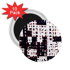 Abstract city landscape 2.25  Magnets (10 pack)