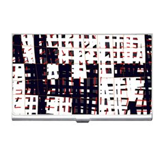 Abstract city landscape Business Card Holders