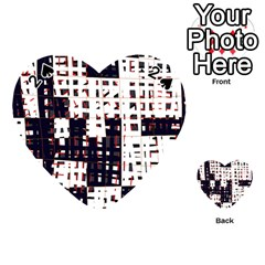 Abstract city landscape Playing Cards 54 (Heart)