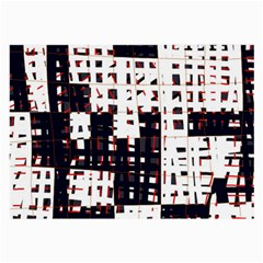 Abstract city landscape Large Glasses Cloth