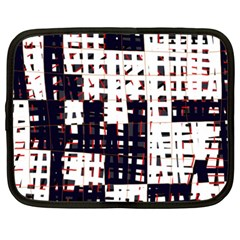 Abstract city landscape Netbook Case (XXL)