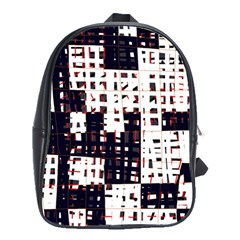 Abstract city landscape School Bags(Large)