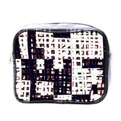 Abstract city landscape Mini Toiletries Bags