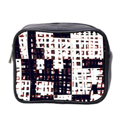 Abstract city landscape Mini Toiletries Bag 2-Side