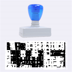 Abstract city landscape Rubber Stamps (Large)