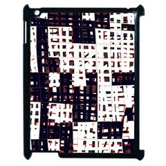 Abstract city landscape Apple iPad 2 Case (Black)