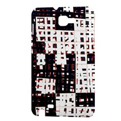 Abstract city landscape Samsung Galaxy Note 1 Hardshell Case