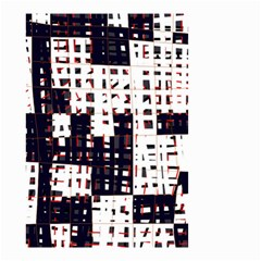 Abstract city landscape Small Garden Flag (Two Sides)