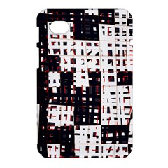 Abstract city landscape Samsung Galaxy Tab 7  P1000 Hardshell Case