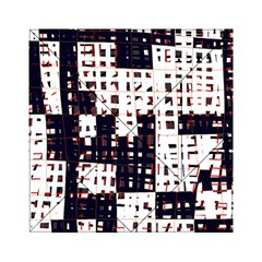 Abstract city landscape Acrylic Tangram Puzzle (6  x 6 )