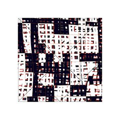 Abstract city landscape Acrylic Tangram Puzzle (4  x 4 )