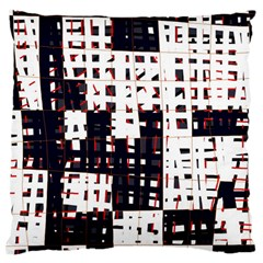 Abstract city landscape Large Cushion Case (Two Sides)