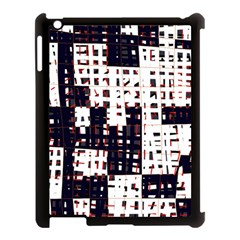 Abstract city landscape Apple iPad 3/4 Case (Black)