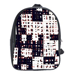 Abstract city landscape School Bags (XL)