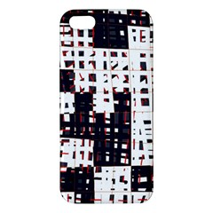 Abstract city landscape iPhone 5S/ SE Premium Hardshell Case