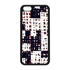 Abstract city landscape Apple iPhone 5C Seamless Case (Black)