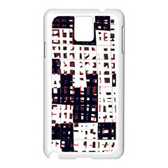 Abstract city landscape Samsung Galaxy Note 3 N9005 Case (White)