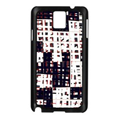 Abstract city landscape Samsung Galaxy Note 3 N9005 Case (Black)