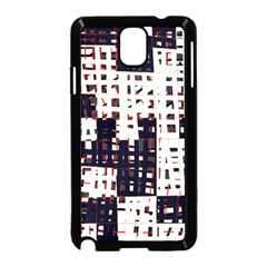 Abstract city landscape Samsung Galaxy Note 3 Neo Hardshell Case (Black)