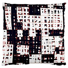 Abstract city landscape Large Flano Cushion Case (One Side)