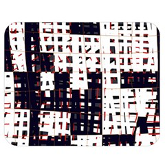 Abstract city landscape Double Sided Flano Blanket (Medium)