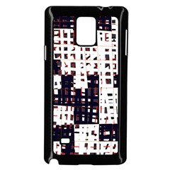 Abstract city landscape Samsung Galaxy Note 4 Case (Black)