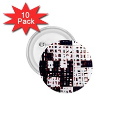 Abstract city landscape 1.75  Buttons (10 pack)