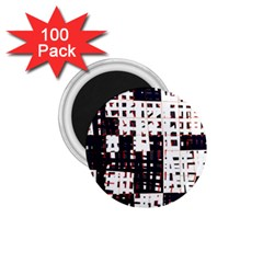 Abstract city landscape 1.75  Magnets (100 pack)