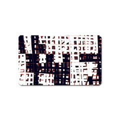Abstract city landscape Magnet (Name Card)