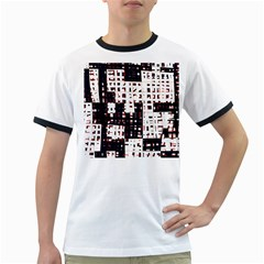 Abstract city landscape Ringer T-Shirts