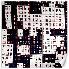 Abstract city landscape Canvas 12  x 12