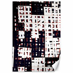 Abstract city landscape Canvas 12  x 18