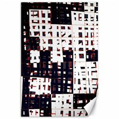 Abstract city landscape Canvas 24  x 36