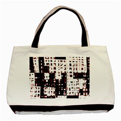 Abstract city landscape Basic Tote Bag (Two Sides)