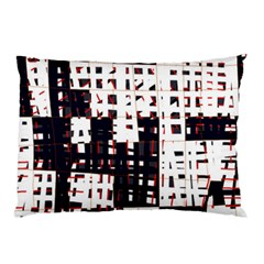 Abstract city landscape Pillow Case