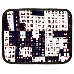 Abstract city landscape Netbook Case (XL)